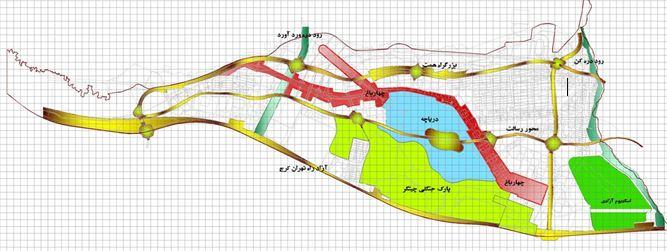 دانلود نقشه اتوکد منطقه 22 تهران