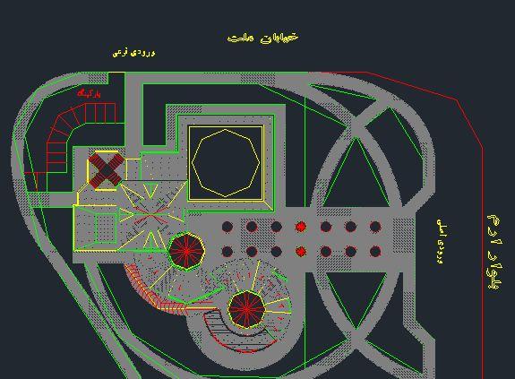 پروژه مرکز فرهنگی
