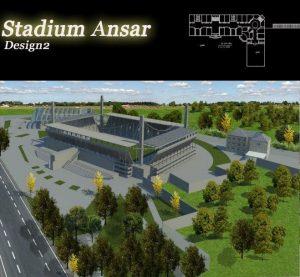 پلان استادیوم انصار