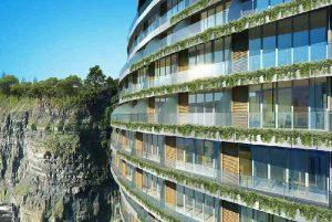 تلفيق معماری با طبيعت