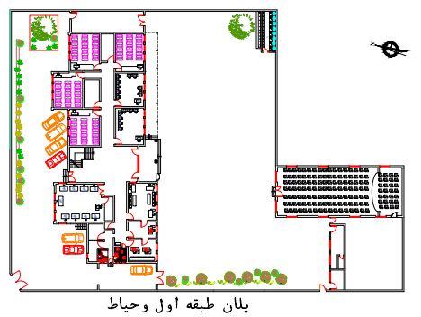 پلان هنرستان ایرانی