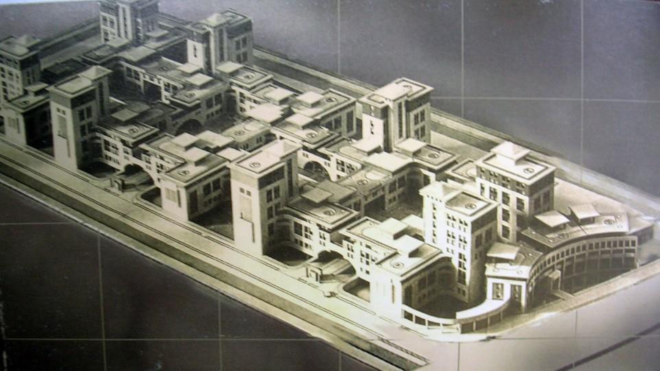 مطالعات طرح 5 معماری مجتمع مسکونی