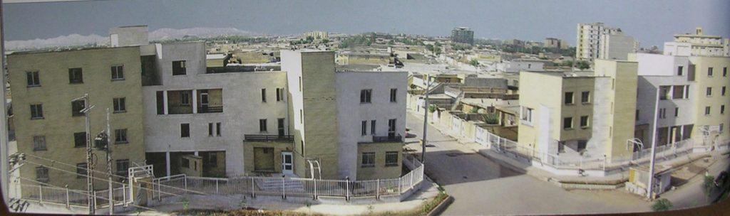 پلان مجتمع مسکونی زیتون اصفهان