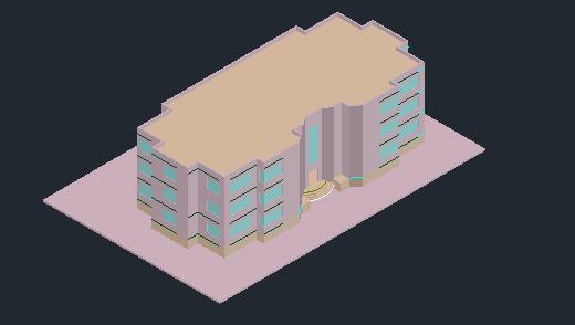 دانلود پروژه طرح 5 معماری مجتمع مسکونی