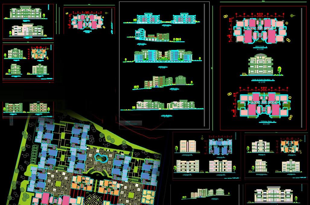 طرح درس طرح 5 معماری