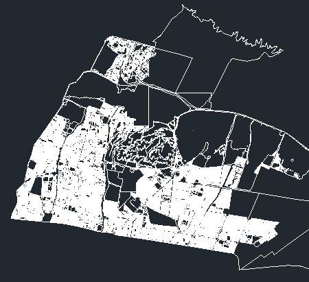 دانلود نقشه اتوکد منطقه 4 تهران