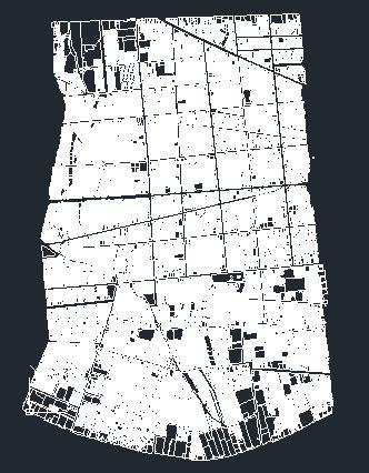 دانلود نقشه اتوکد منطقه 10 تهران