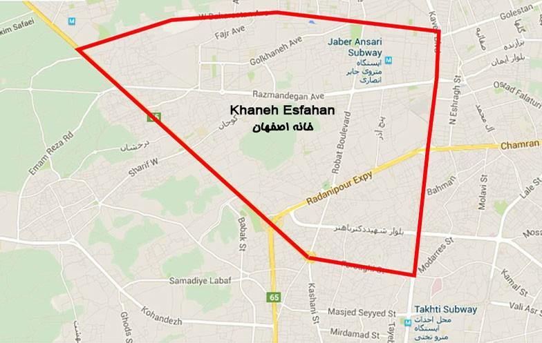 دانلود نقشه کد طرح تفصیلی منطقه 8 اصفهان شیپ فایل منطقه 8 اصفهان