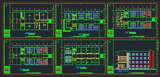 پلان دانشگاه هنر و معماری
