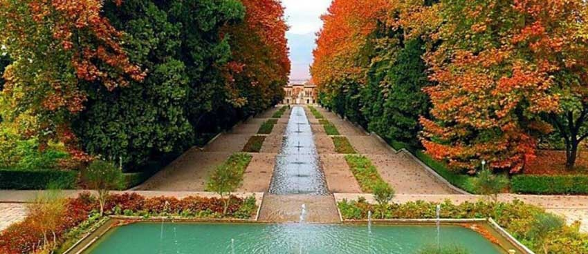 معماری باغ ایرانی